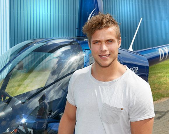 Martin Hansen – helikopterpilot-elev