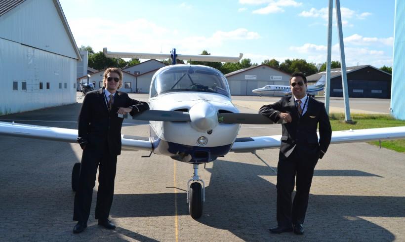 Tillykke til de to Jet-Time piloter