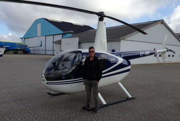 Endnu en Robinson R44 pilot er uddannet