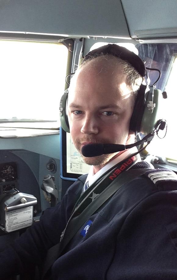 Thomas Hilding Pedersen – tidligere BAC-elev